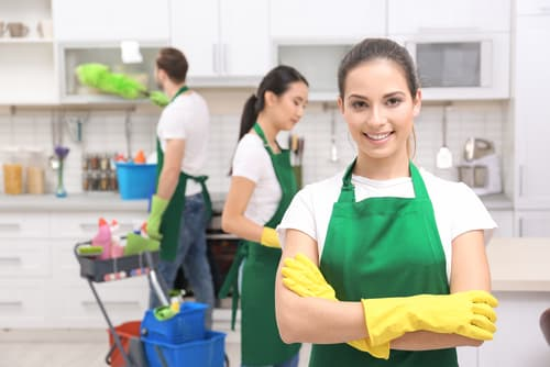 How do I get all the perks of owning a cleaning service