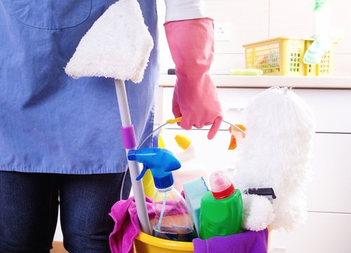 How do I protect my cleaning staff from hazards